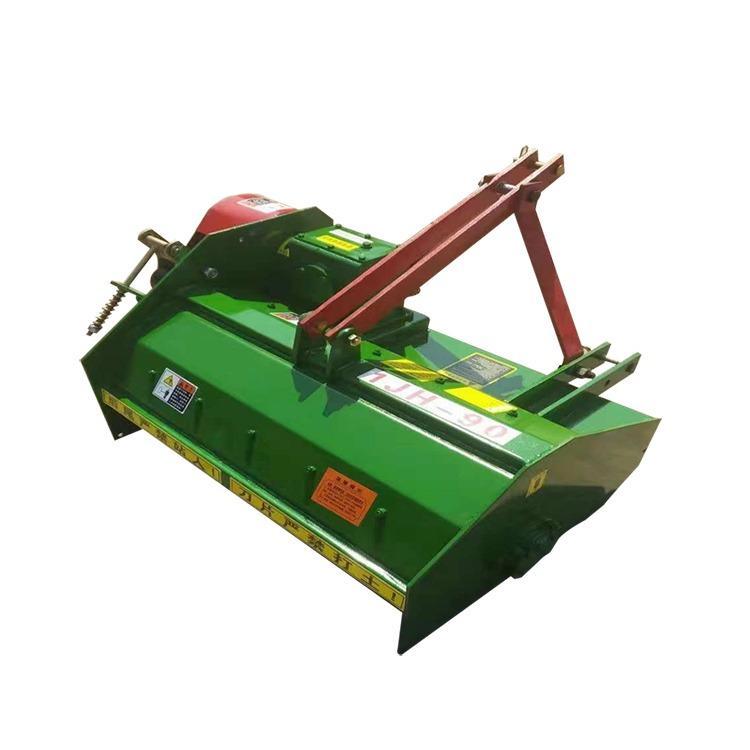 金齐鲁 四轮加强型秸秆还田机 多功能果园除草机 行走式秸秆粉碎机