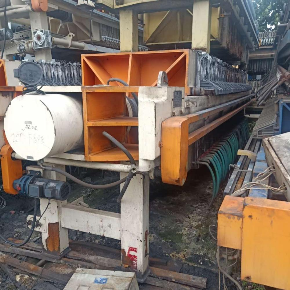 超跃污泥脱水机厂家直销 二手污泥脱水机报价 二手浓缩污泥脱水机回收