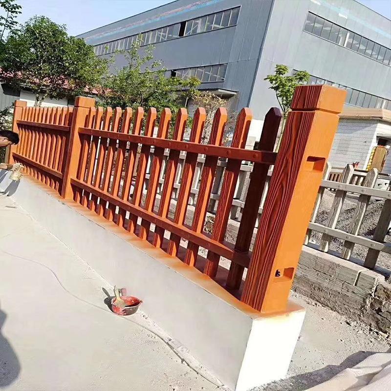 华工 水泥仿木护栏 水泥仿木栏杆 仿木护栏 混凝土仿木栏杆 定制T型