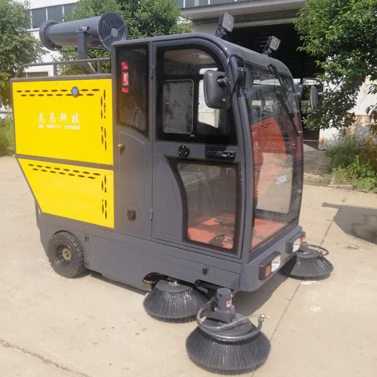 驾驶式电动扫地车 工业车间电动扫地机 驾驶式扫地机 龙马新能源