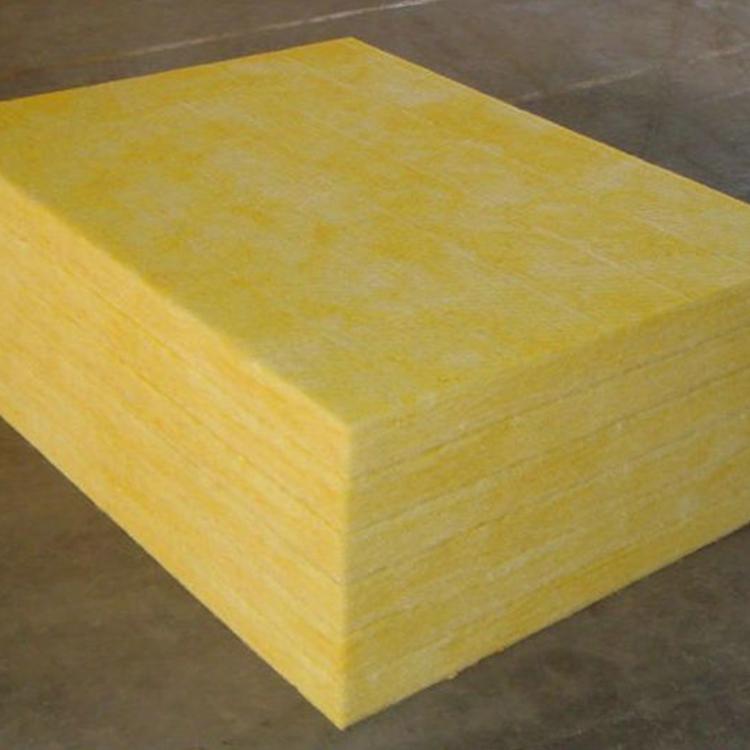 建筑保温材料离心玻璃棉板 金威高密度防火玻璃棉卷毡 A级