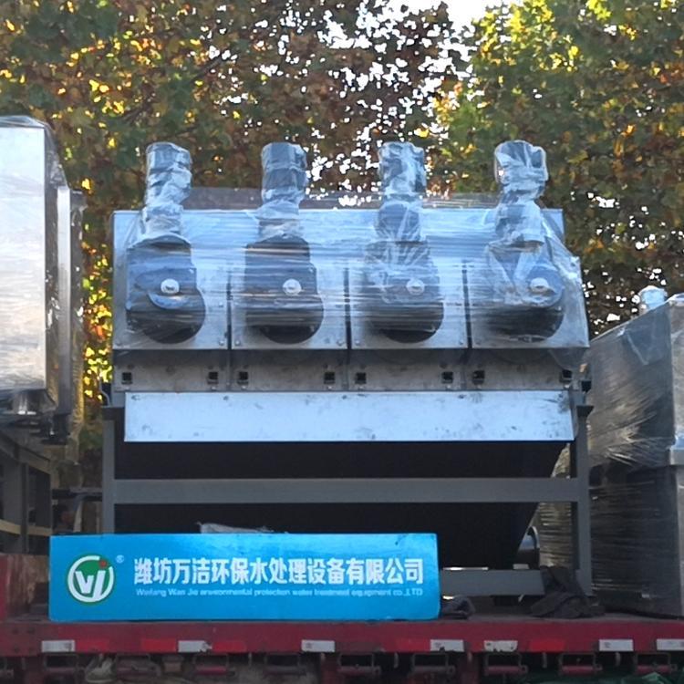 叠螺压泥机厂家 周晓畅印染废水全自动叠螺式污泥脱水机 叠螺机河南厂家直销