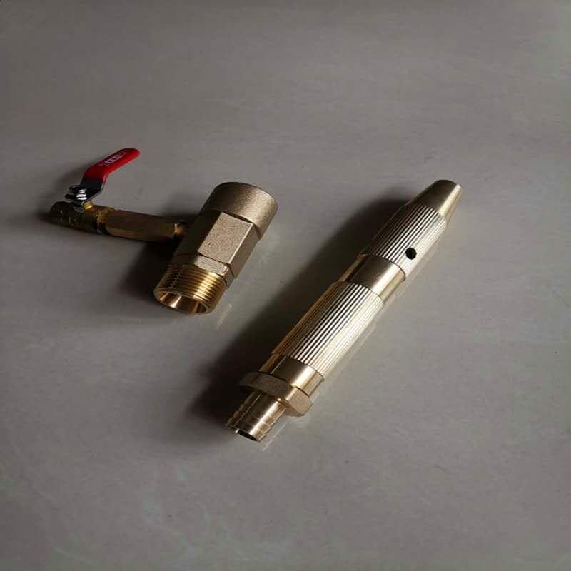 首防牌PSG40泡沫消火栓箱消防器材不锈钢泡沫液储存罐铜泡沫枪