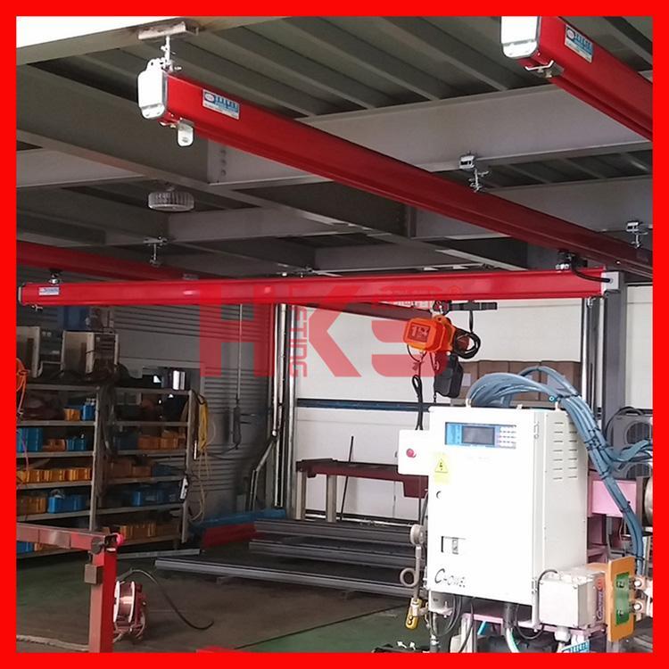 韩国KHC轨道系统 KH型合金钢轨道 气动平衡吊/气动葫芦滑轨