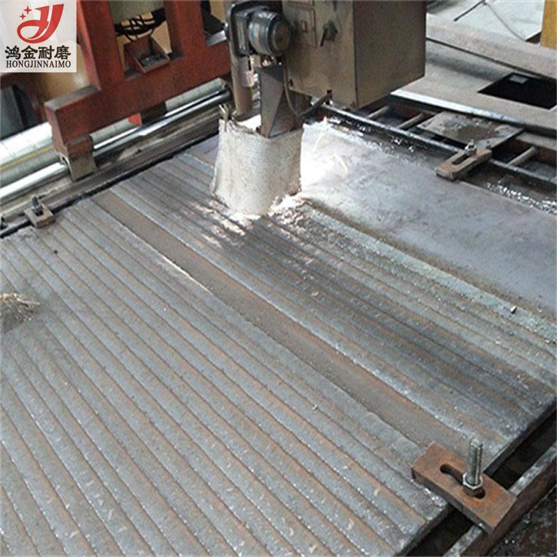 鸿金8+4耐磨复合钢板 加工给煤机底板 耐磨复合钢板生产商