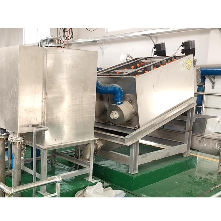 污水处理设备 周晓畅303型叠螺式污泥脱水压滤机 叠螺机价格 潍坊生产厂家直供