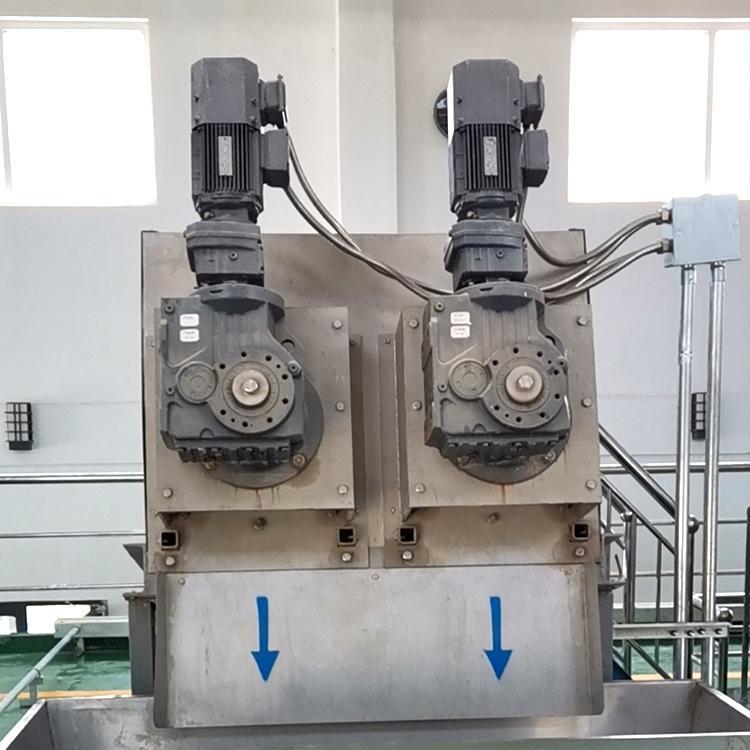 叠螺压滤机352型 造纸厂污泥处理设备 全自动叠螺污泥脱水机 周晓畅叠螺机厂家直销