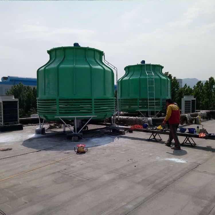 宏丰 供应普通型圆形玻璃钢冷却塔 逆流式湿式凉水塔 工业降温设备冷水塔 厂家直销