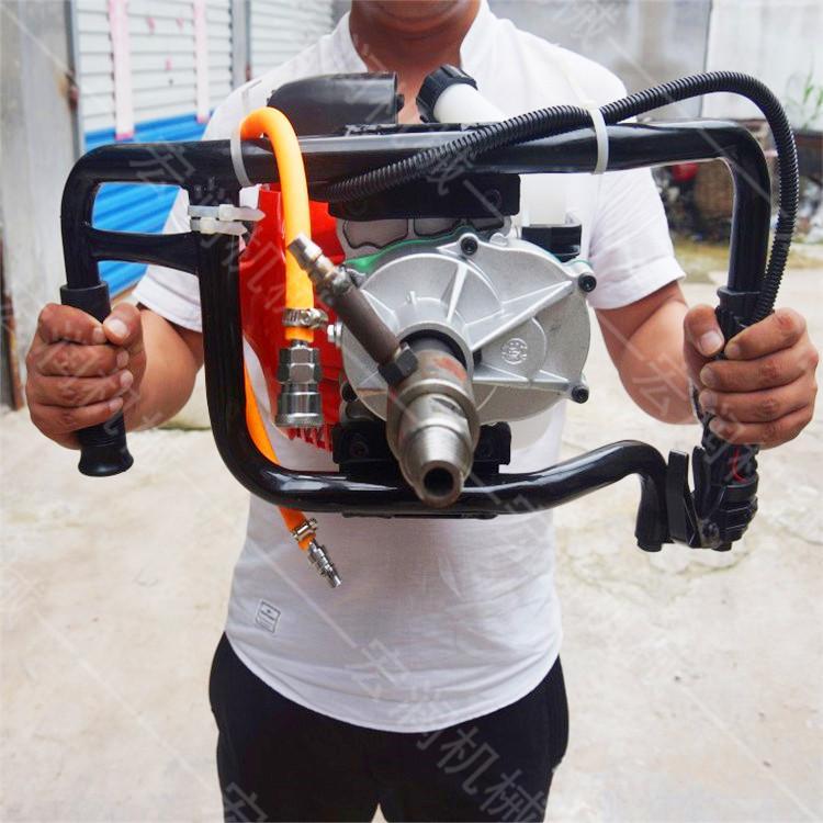 宏润背包钻机厂家 双人背包钻机 20米背包钻机 背包取样钻机