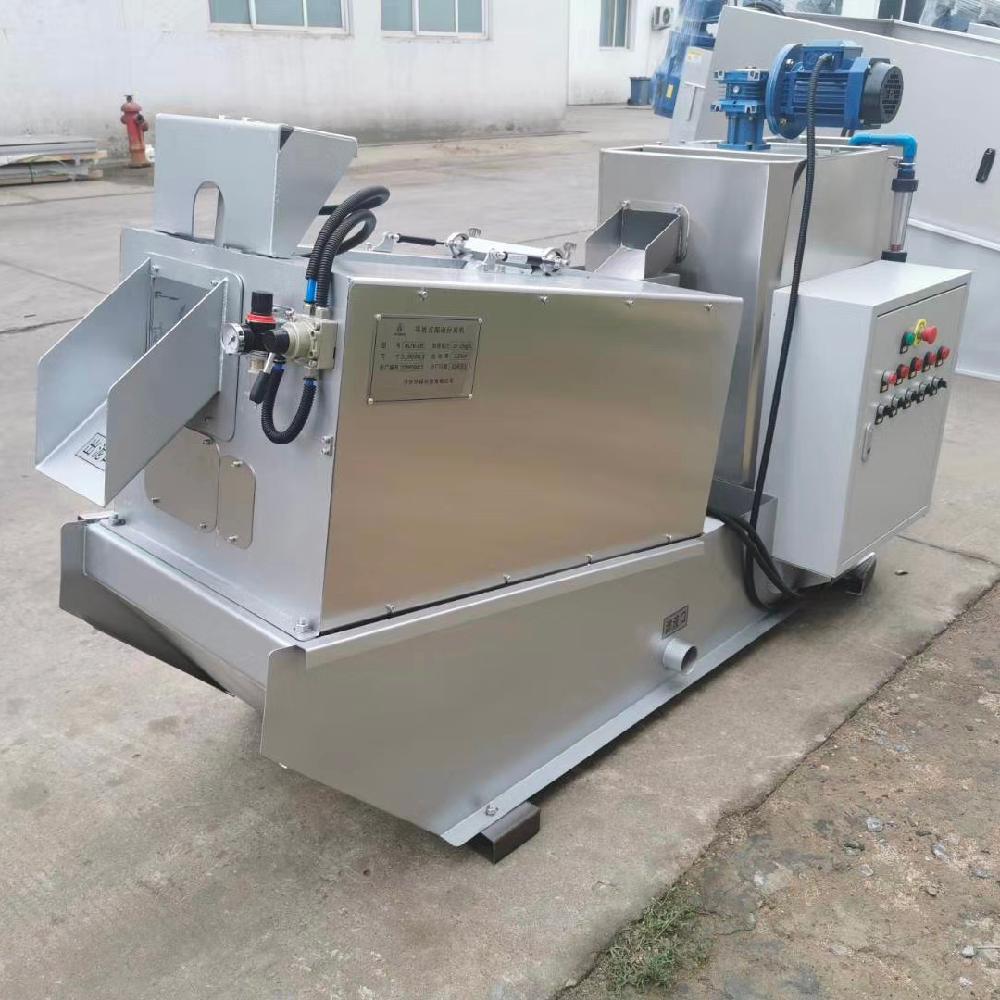 厂家供应叠螺式污泥脱水机 大有环保叠螺机 组合型叠螺式污泥脱水机