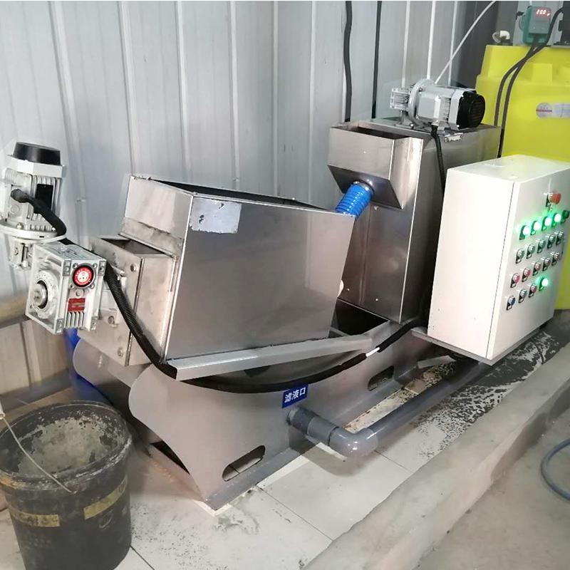 叠螺压滤机131型 食品厂废水 叠螺式污泥脱水机厂家直供价格 周晓畅