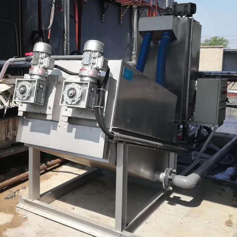 工业化工洗洁精污泥脱水叠螺机 全自动叠螺机132型 节能省电