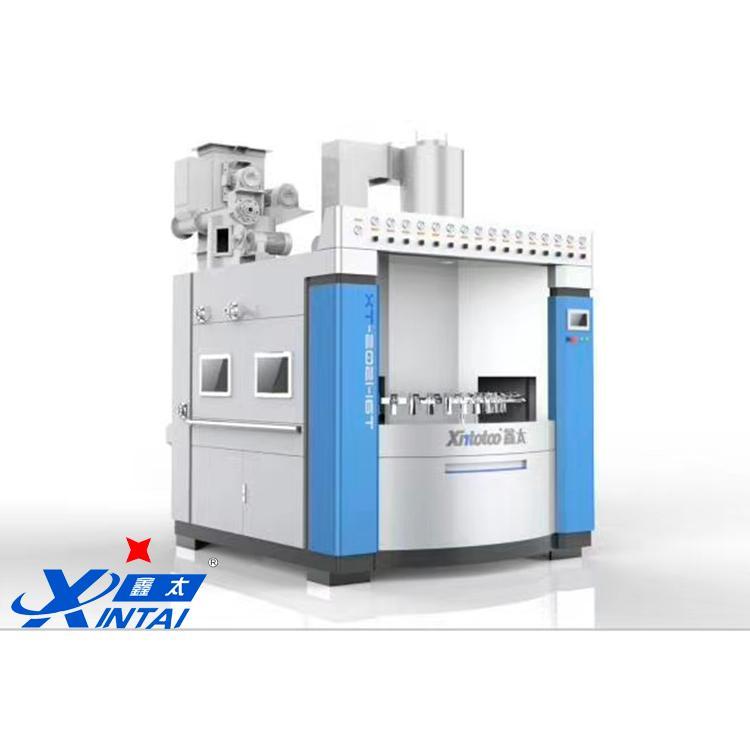 鑫太XT-1820-14A-zp轉盤式自動噴砂機 鋁材外殼全自動噴砂機廠家直銷