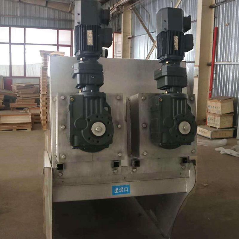叠螺脱水机402 印染污泥叠螺机402型 大处理量污泥处理设备