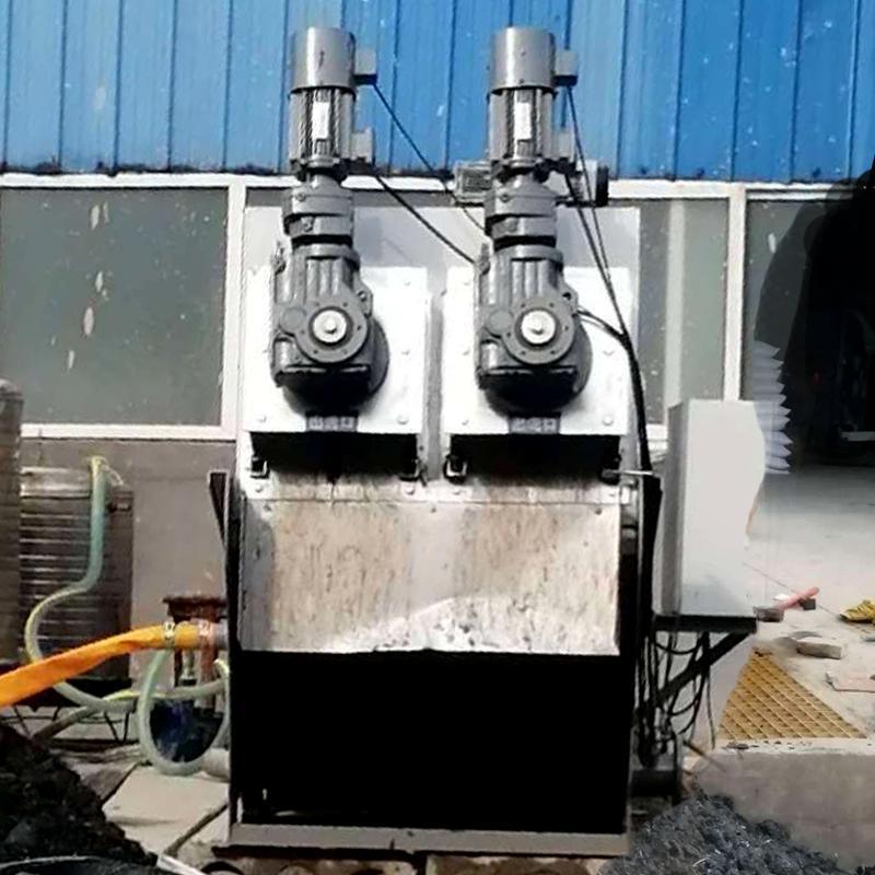 塑料厂污泥处理叠螺机 302型叠螺式污泥脱水机 厂家直销叠螺机