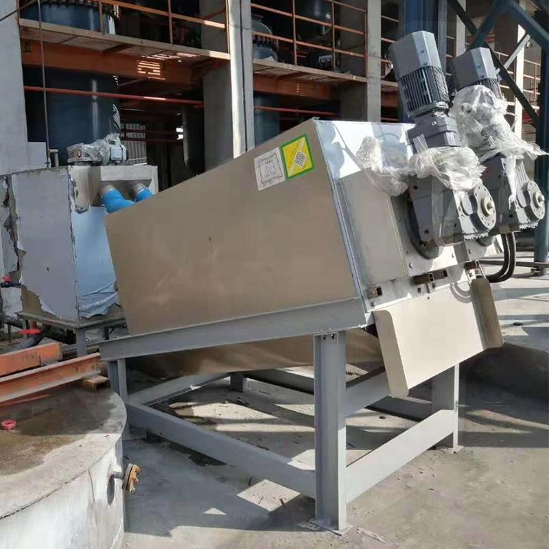 生物制药污泥处理叠螺压滤机 不锈钢叠螺脱水机402