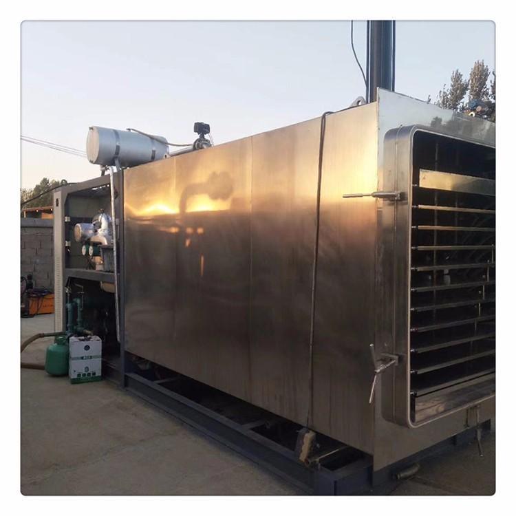福亮转让 二手真空冻干机 二手5吨真空冻干机