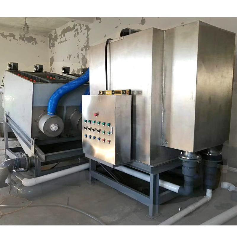 303型叠螺式污泥脱水机 叠螺式压滤机 一体化污泥脱水处理设备 周晓畅叠螺机
