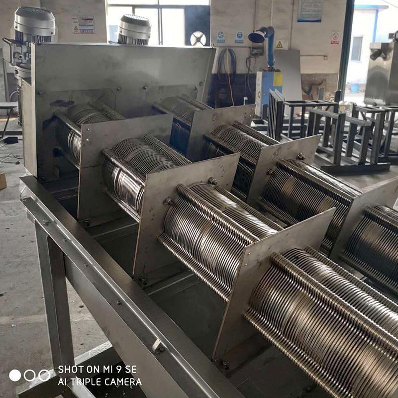 造纸厂污泥处理叠螺机 202型不锈钢叠螺式污泥脱水机 广西厂家直销周晓畅叠螺机
