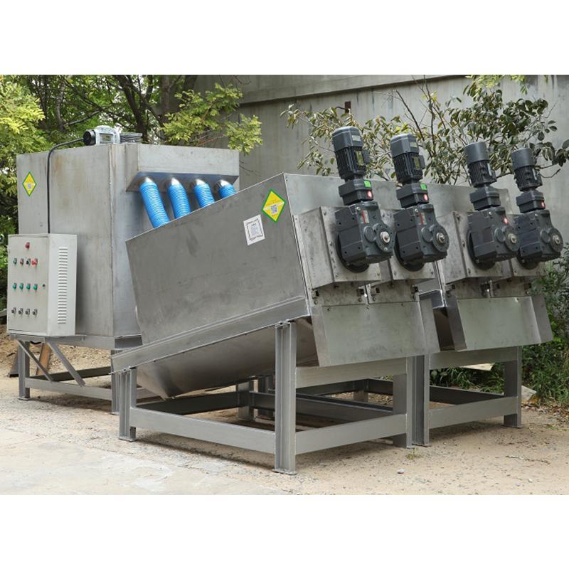 叠螺式污泥脱水机 北海叠螺机304 酿造厂污泥处理设备
