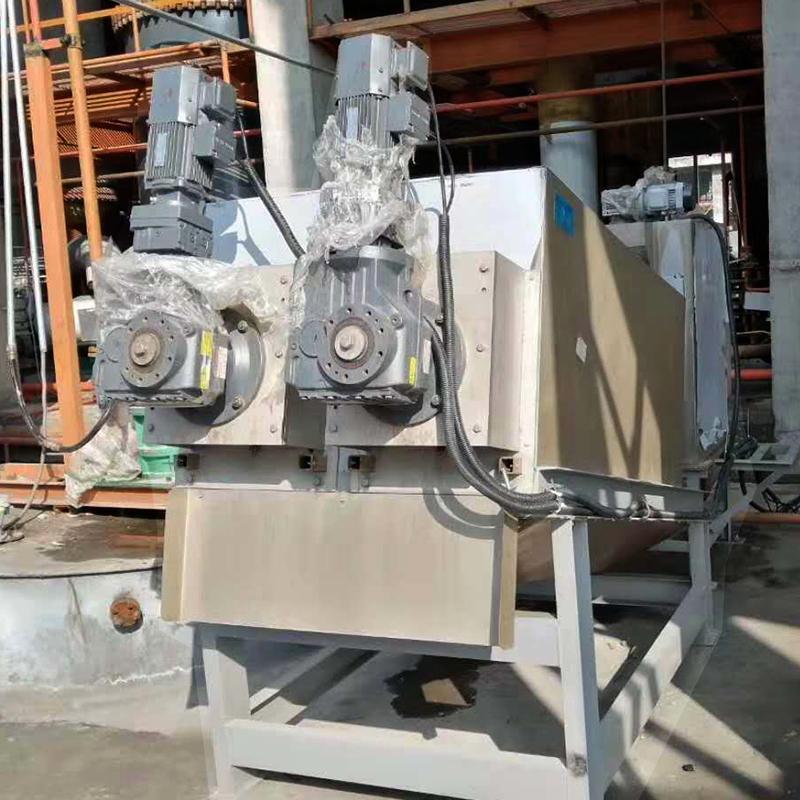 造纸厂叠螺脱水机 周晓畅302型全自动节能叠螺式污泥脱水机厂家直销
