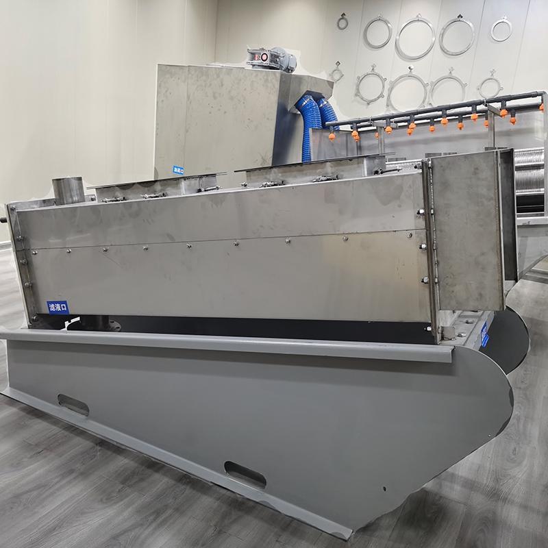 纺织污泥处理设备叠螺机 全自动201型叠螺式污泥脱水机 周晓畅叠螺机厂家直销
