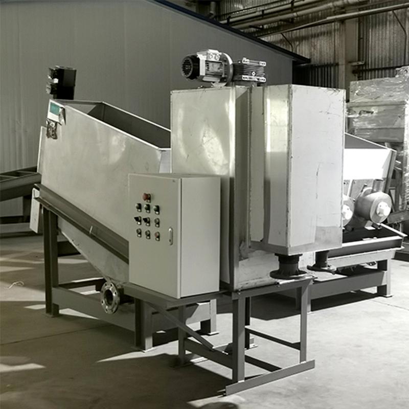 养猪场污泥处理叠螺机 全自动301型叠螺式污泥脱水机 周晓畅节能环保叠螺机