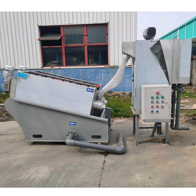 生活污水处理全自动叠螺式污泥脱水机 302型叠螺机厂家新疆直供 叠螺机价格