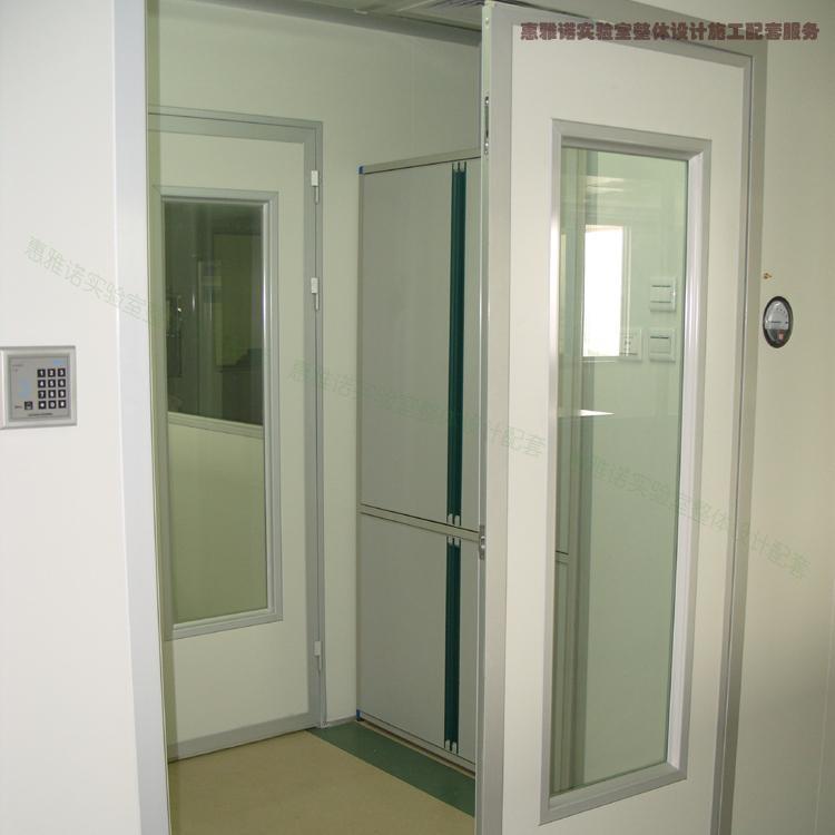 广州惠雅诺 高校实验室装修设计 采用玻镁洁净板材质间隔实验室 整体设计配套