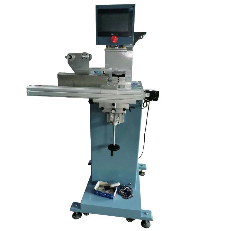 骏晖 惠州移印机厂家 伺服穿梭台单色移印机 塑胶外壳注塑移印生产线