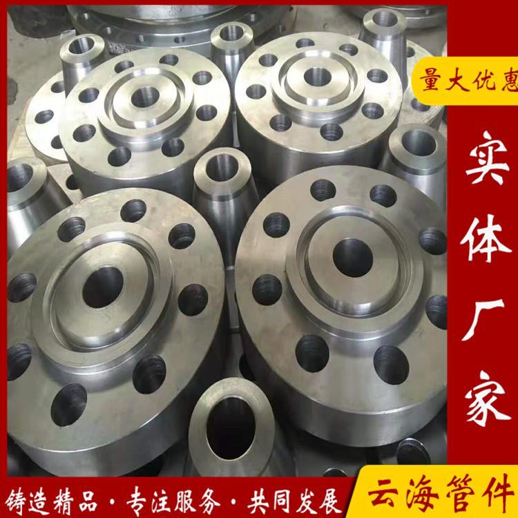 潍坊供应dn200对焊高压法兰 化工部标准法兰 云海实体厂家