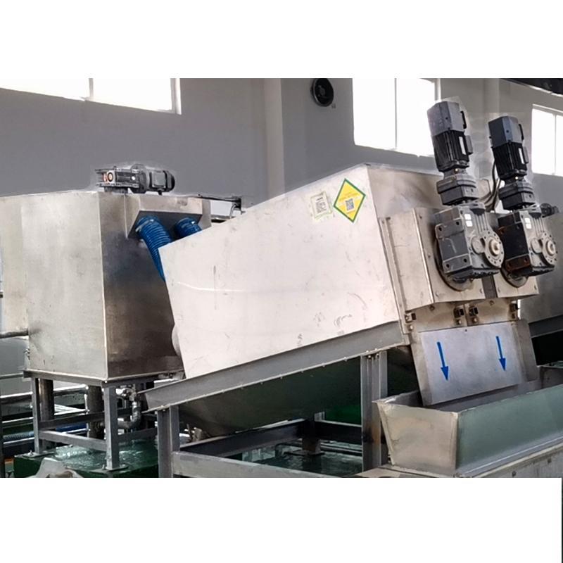 353型叠螺机 制药厂污泥处理设备 叠螺污泥浓缩压滤机设备 生产供应商