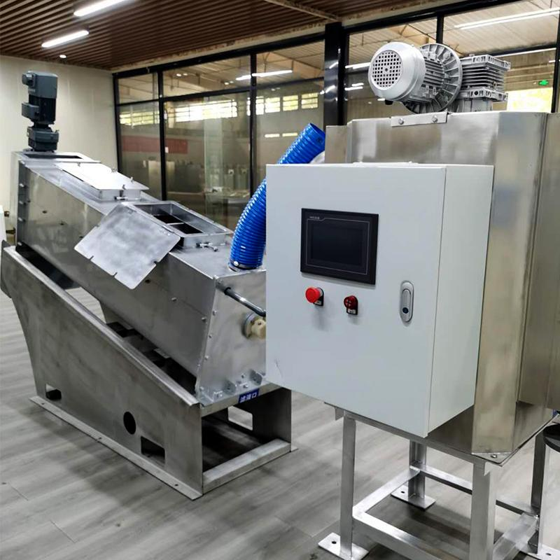 叠螺污泥脱水压滤机 污泥处理设备省电 301型全自动叠螺式污泥脱水机