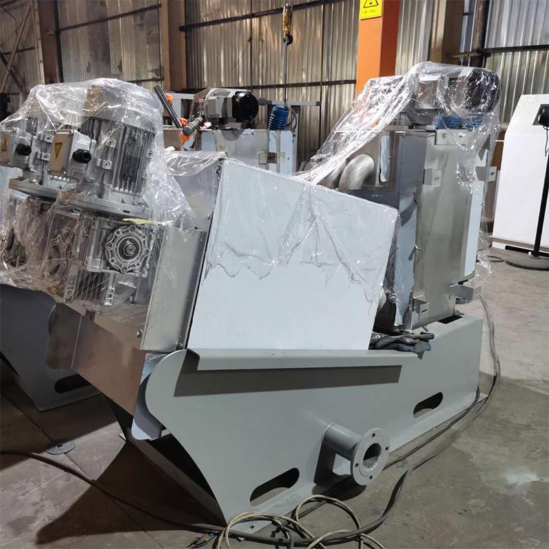 污泥脱水压滤机132型 不锈钢叠螺式污泥脱水机 周晓畅叠螺机价位