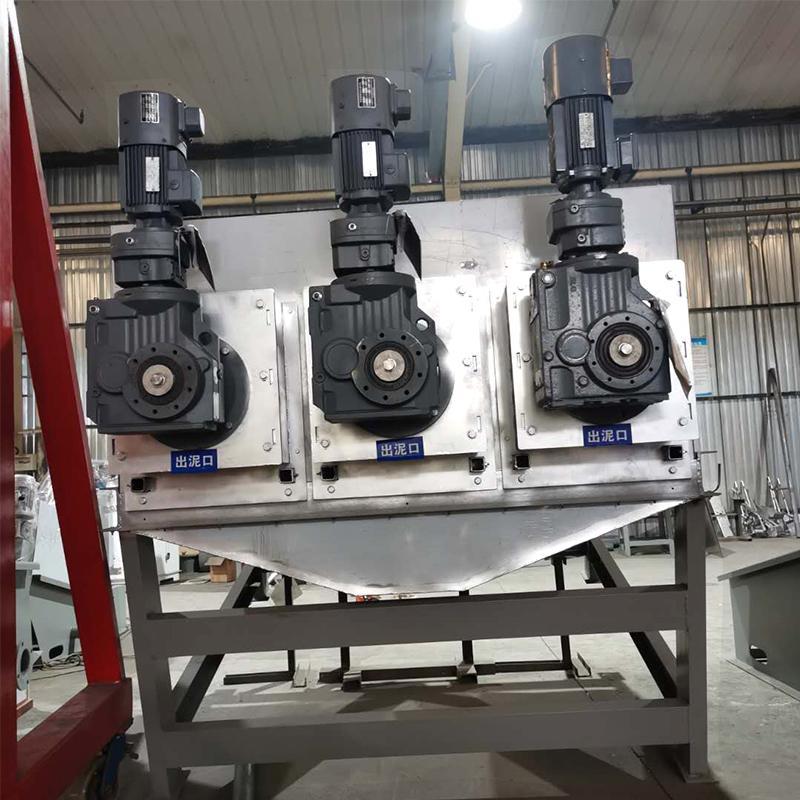 可乐厂污泥处理设备叠螺机 不锈钢133型叠螺机 厂家定制专卖