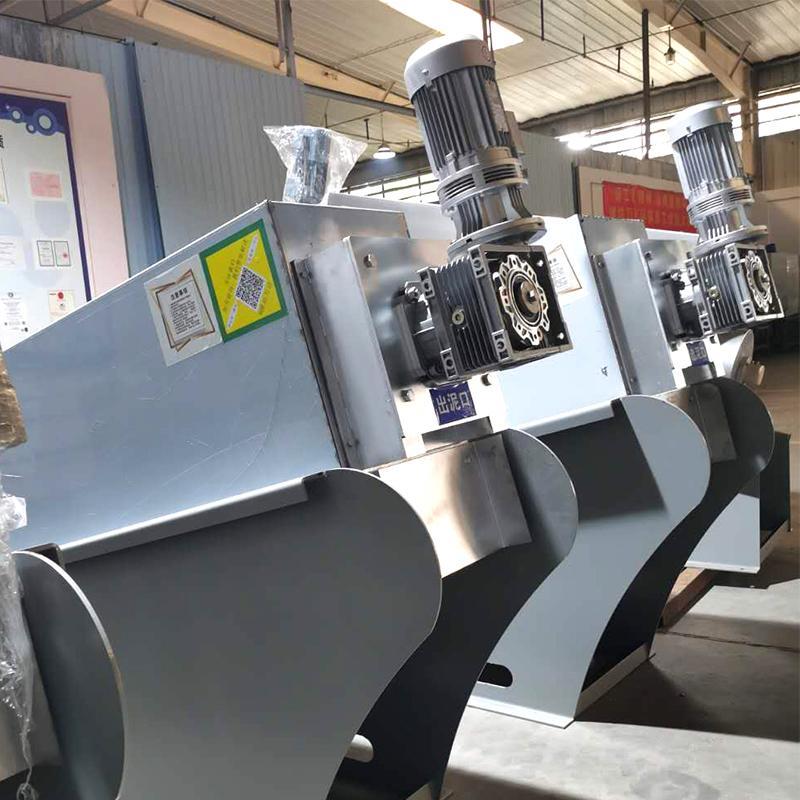 石油化工污泥处理设备 401型叠螺式污泥脱水机 厂家直销周晓畅叠螺机