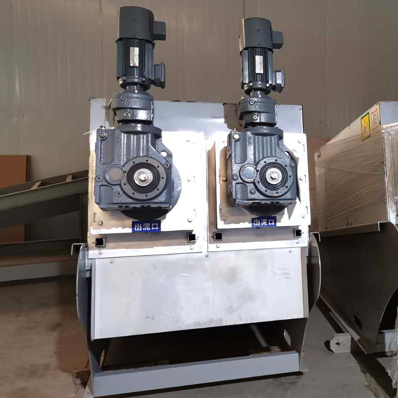 叠螺式污泥脱水机 制药酿酒废水处理叠螺压泥机