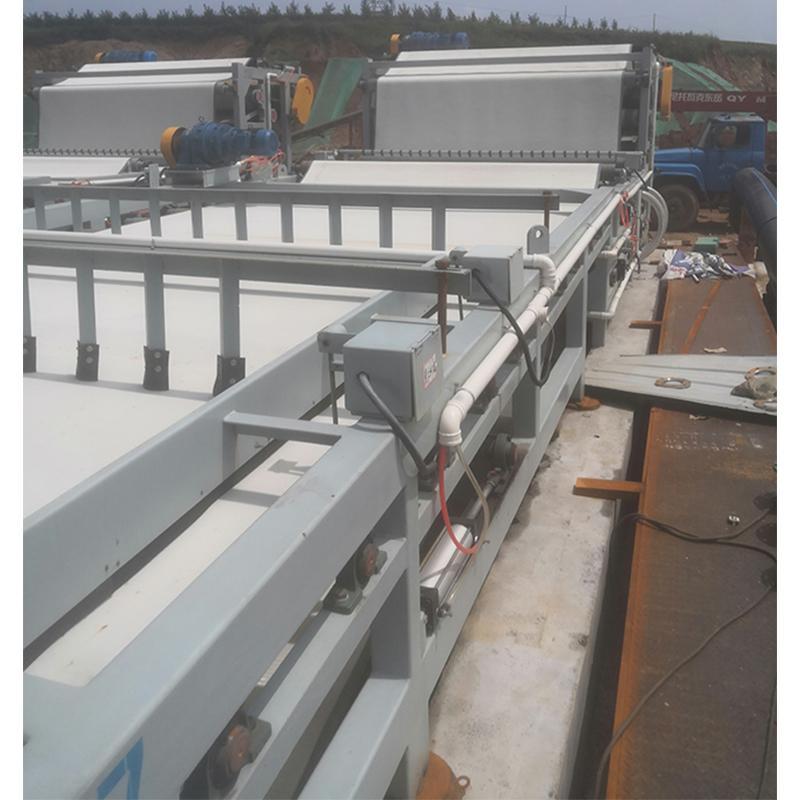 三本机械带式压滤机 污泥压滤机 带式污泥脱水机 高压深度脱水用压滤机