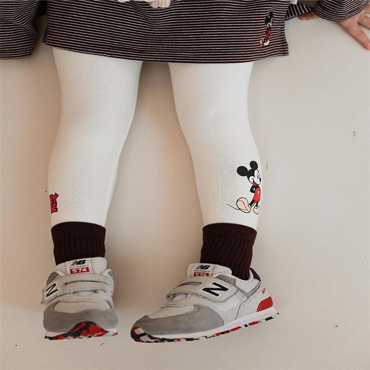 品牌童装迪士尼货源 迪士尼打底裤 秋冬加绒童裤 品牌童装尾货