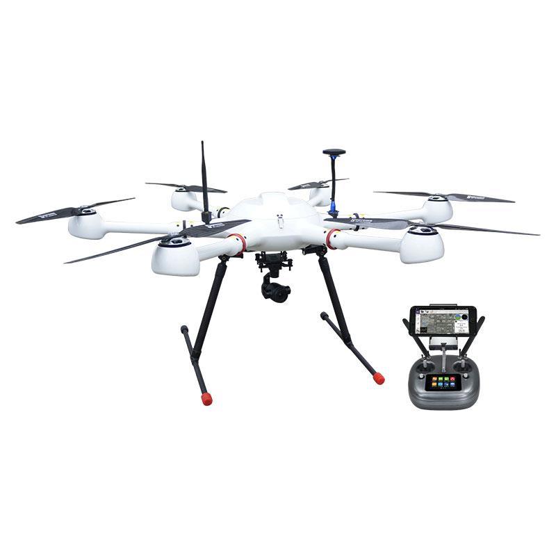 自动跟踪4K高清云台相机六旋翼无人机侦查巡线套装巡检