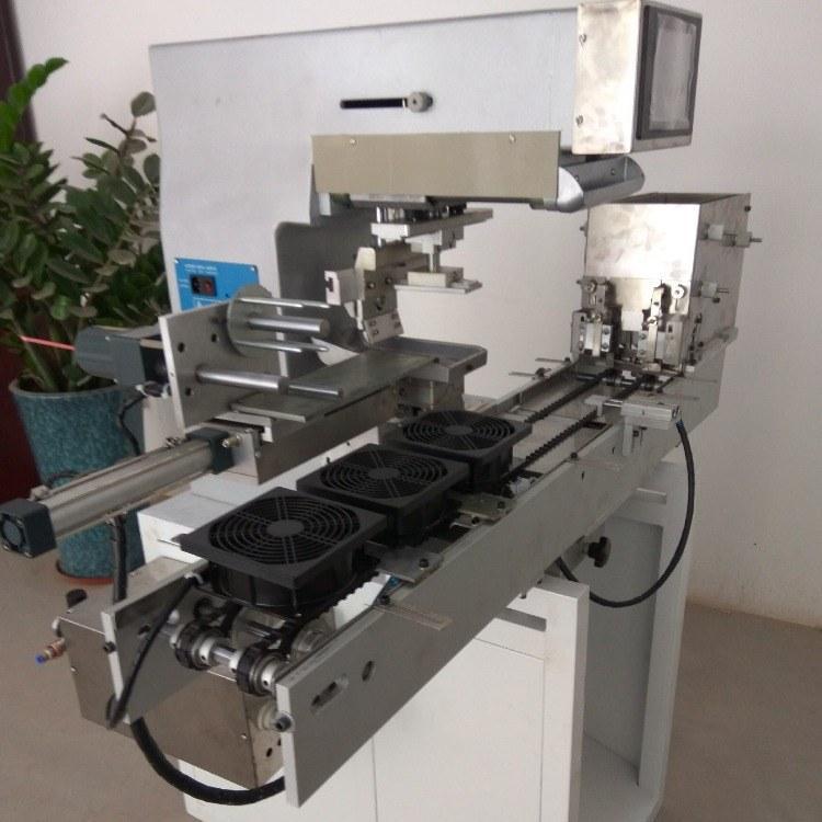 移印机 骏晖机械 链条输送带单色移印机 毛刷木柄移印机 智能装备