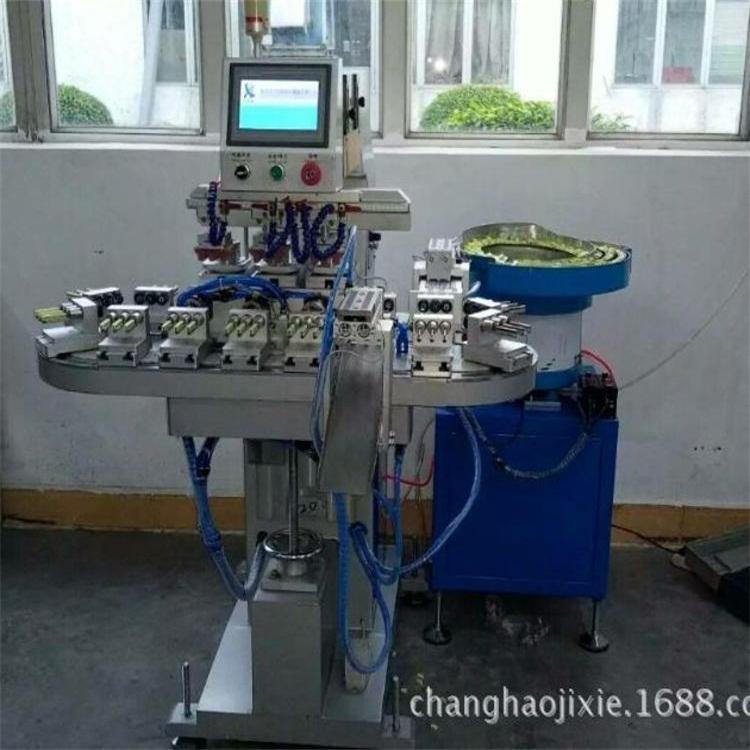 生料带印刷机直销 骏晖印刷机械 全自动单色移印机生产厂家 操作方式全自动