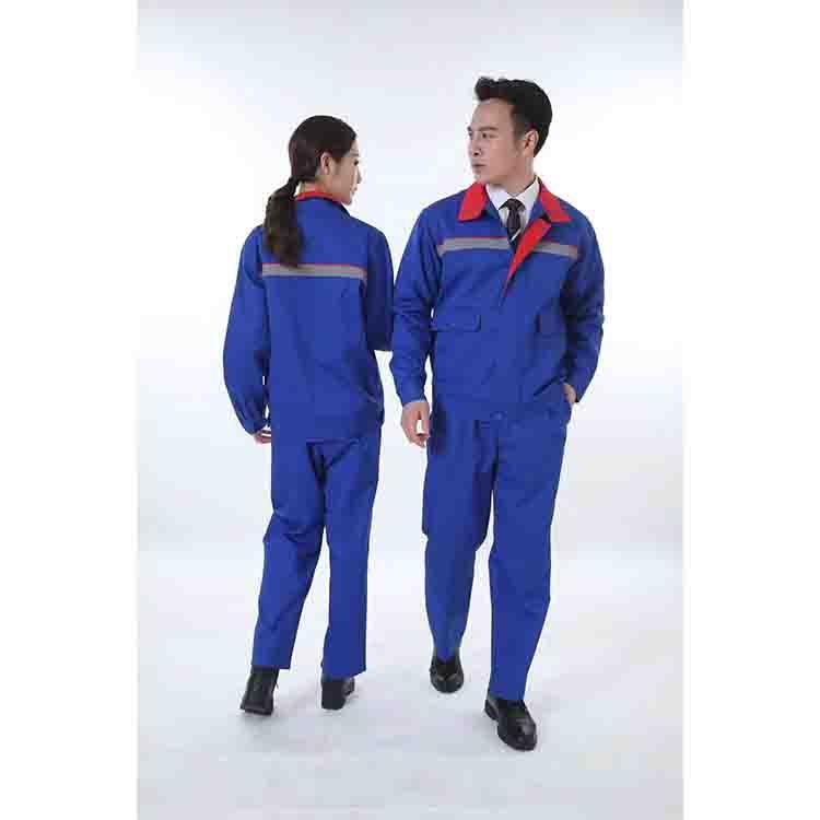 湖南工作服套装价格 八骏 车间工作服厂家 实体厂家