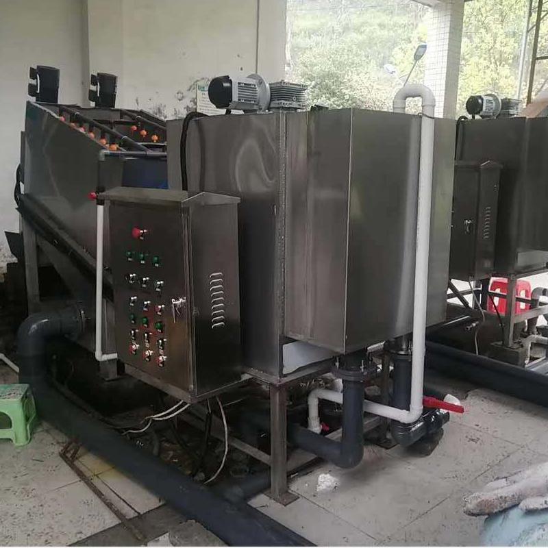 叠螺式污泥脱水机403 叠螺压泥机厂家 奶茶厂污泥处理设备