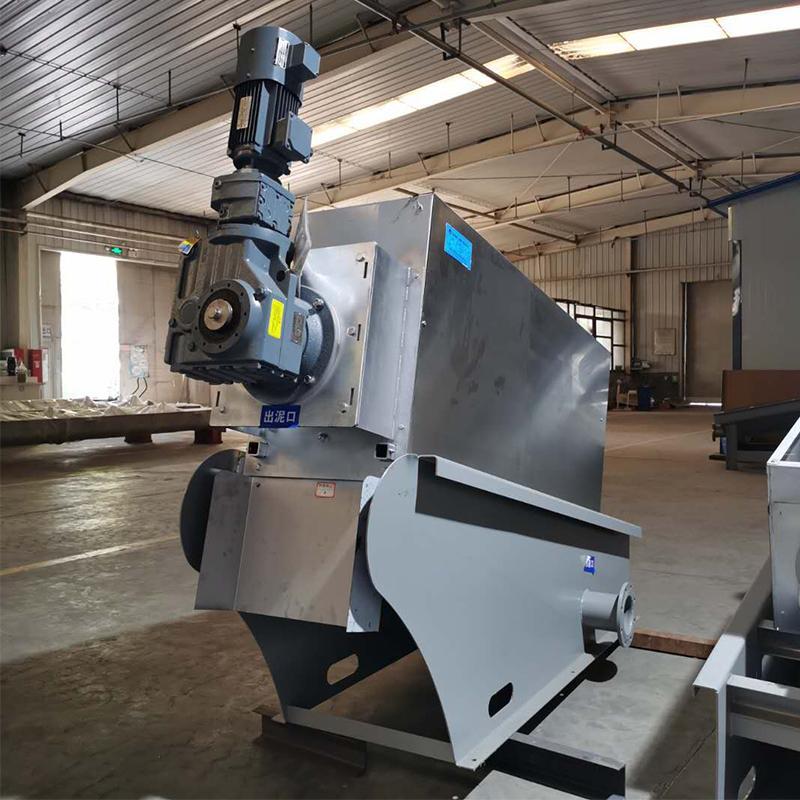 屠宰废水污泥处理设备 叠螺机201 叠螺式压滤机 叠螺式污泥脱水机