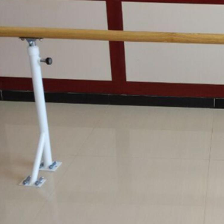 名企移动舞蹈把杆 固定式舞蹈把杆 地面固定舞蹈把杆 水曲柳舞蹈把杆