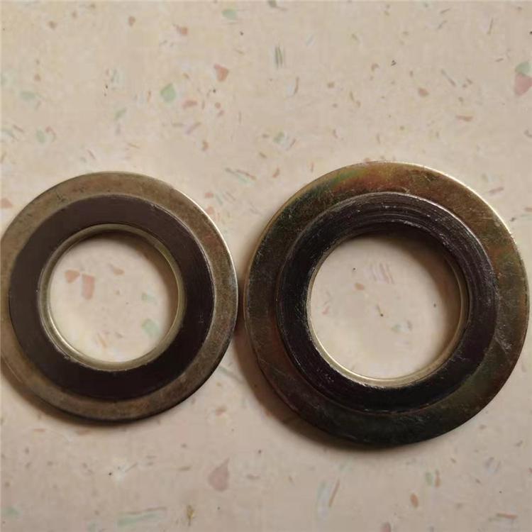 带外环金属缠绕垫片 密封垫片 高温垫片 支持定制 涂鑫