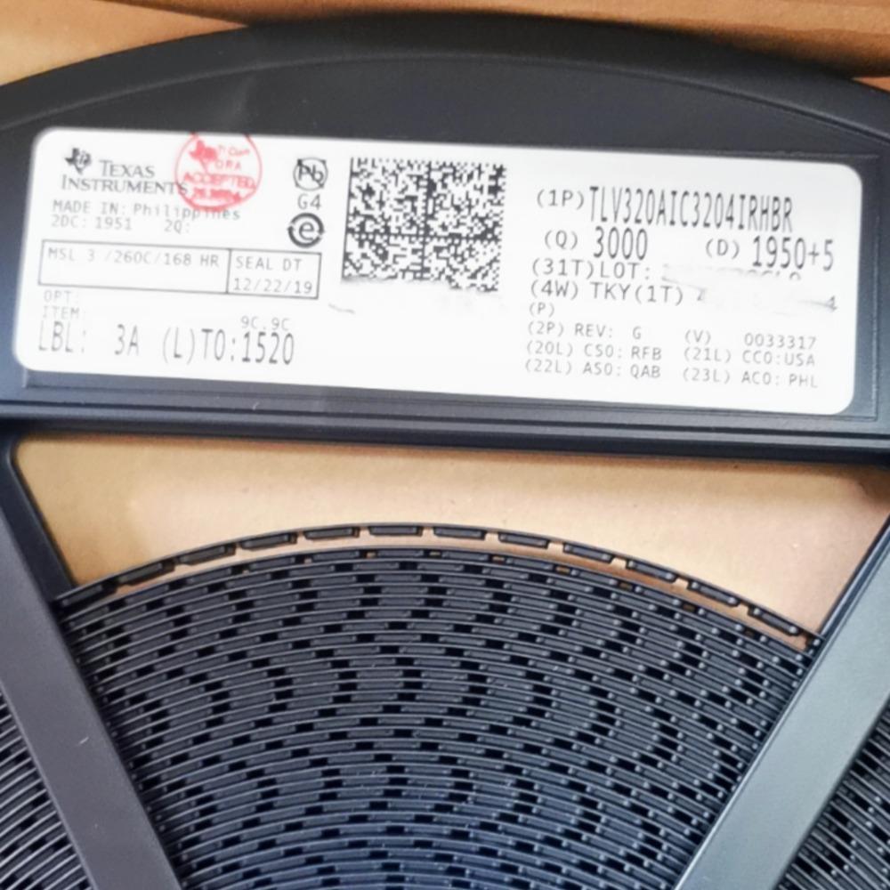TI德州仪器 TLV320AIC3204IRHBR QFN-32 音频编解码器芯片