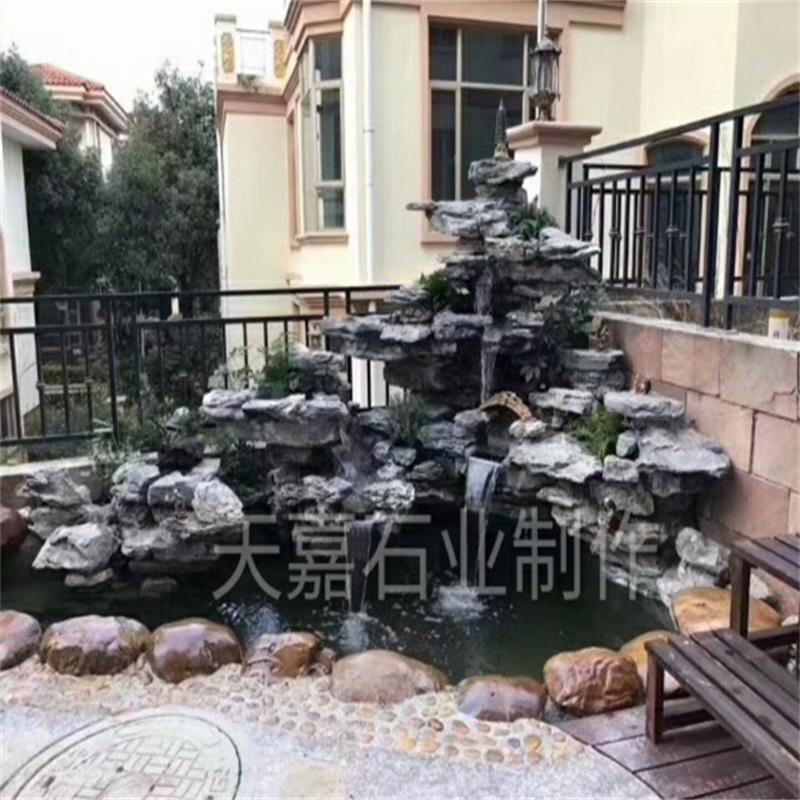 南京鱼池过滤净化 南京庭院设计公司 南京别墅设计公司 南京庭院景观设计公司