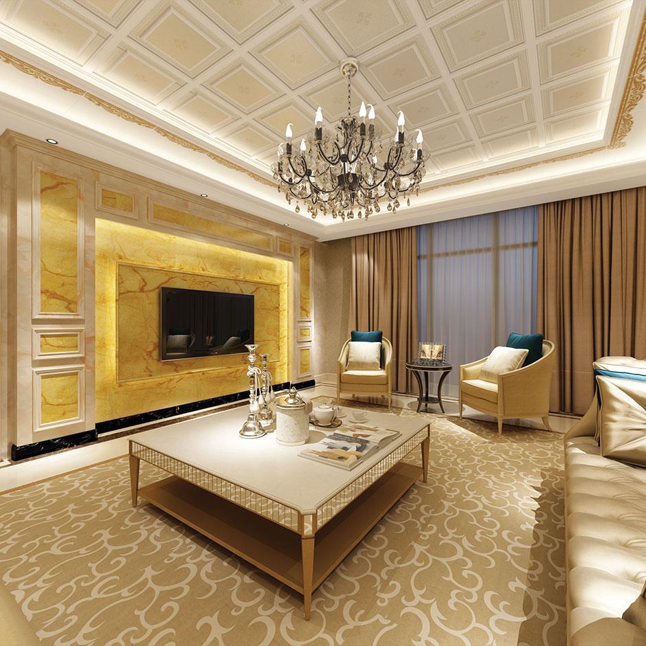 世纪豪门重庆集成墙面品牌 济宁集成墙面品牌 竹木纤维集成墙板卧室客厅